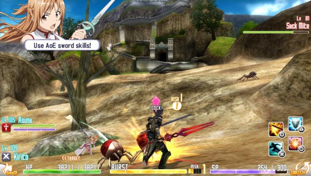 Sword Art Online Hollow Fragment PC Game Free Download Screenshot 1