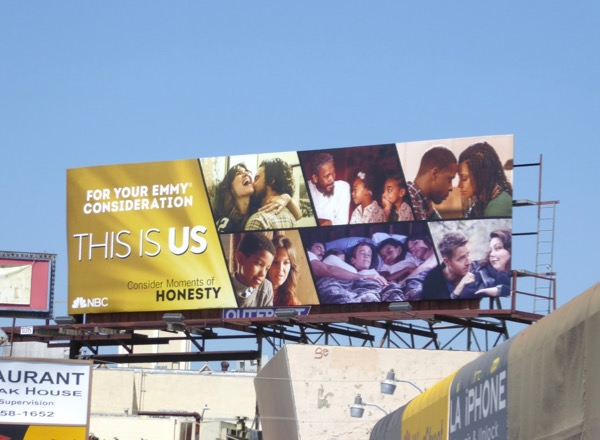This is Us 2017 Emmy billboard