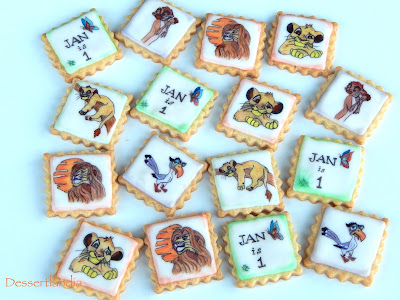 The Lion King Cookies