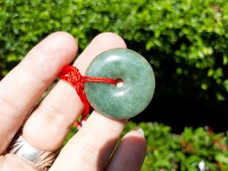 Liontin Batu Permata Giok Jadeite Jade Type A JDT017 Natural Origin Burma Memo My Gems Lab