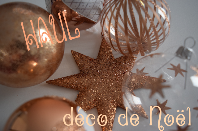 deco noel rose gold
