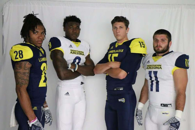 northern arizona uniforms 2017