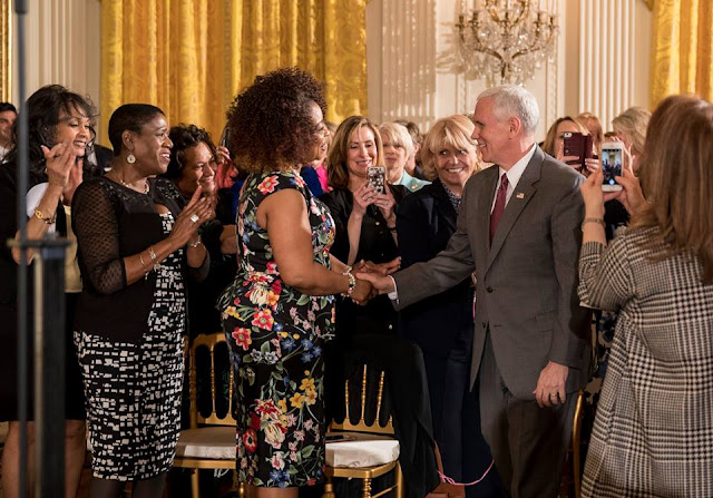 celebration of Womens History Month continued at The White House