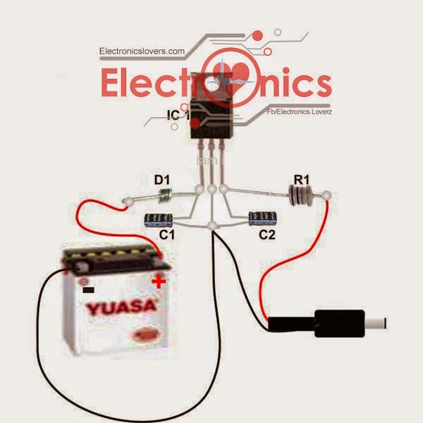 Dld Mini Projects Circuit Diagram Floral Of Hibiscus Flower Related To Electrical And Electronic Engineering
