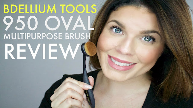 Bdellium Tools 950 Oval Multipurpose Brush, @girlythingsby_e