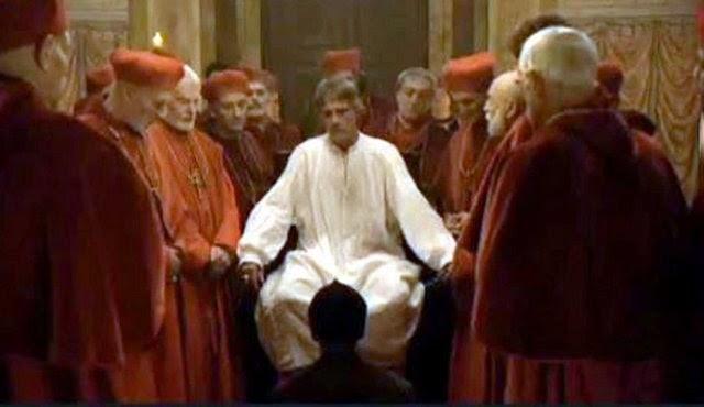 Papa'ya testis kontrolü !