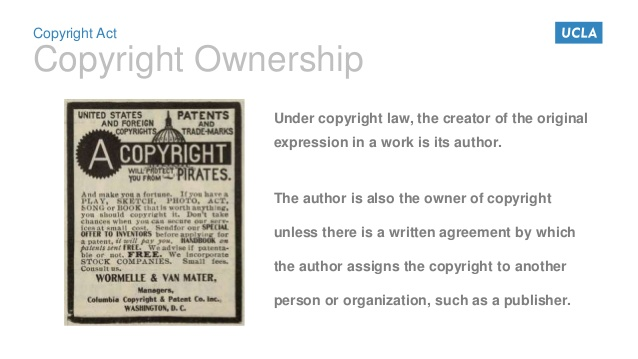 Copyright policies of academic publishers