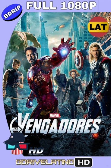 The Avengers: Los Vengadores (2012) BDRip 1080p Latino-Ingles MKV