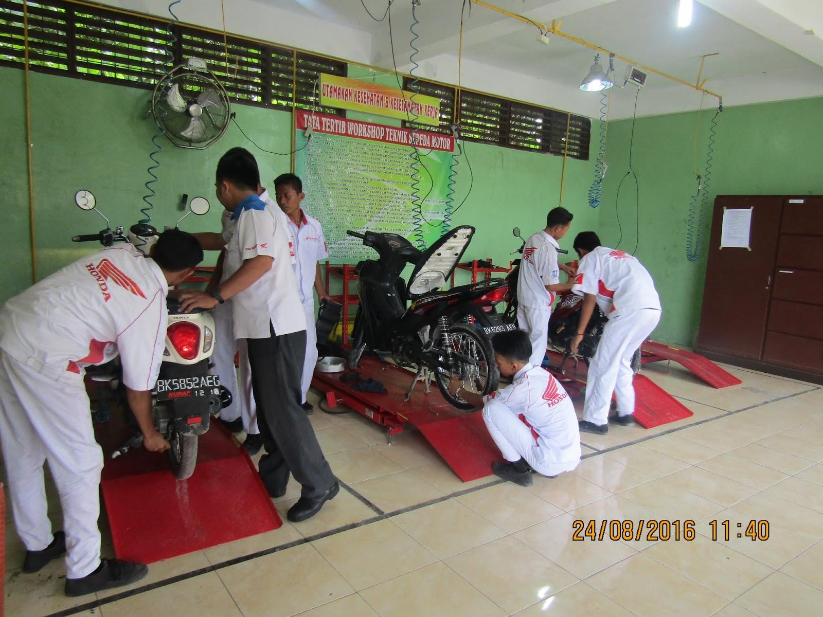 Pengadaan Service gratis dengan Honda yang di adakan di Workshop TSM Tri Karya