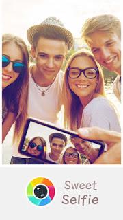 تطبيق Sweet Selfie للتعديل على الصور
