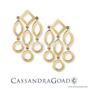 Kate Middleton wears Cassandra Goad Earrings
