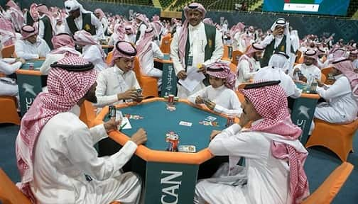 BALOOT IS A CARD GAME NOT GAMBLING IN SAUDI ARABIA