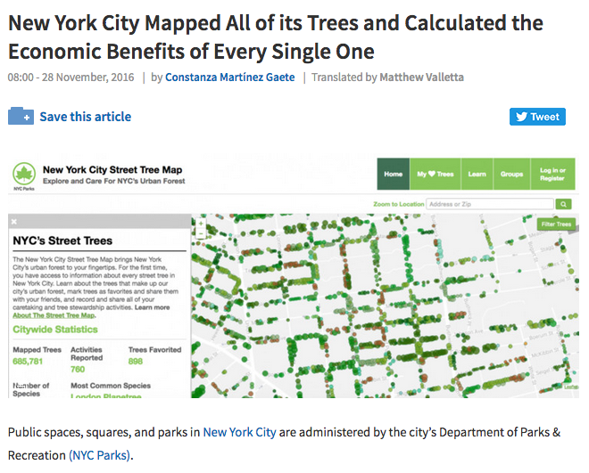 http://www.archdaily.com/800157/new-york-city-mapped-all-of-its-trees-and-calculated-the-economic-benefits-of-every-single-one