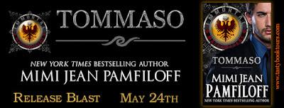 Release Blast & Giveaway:  Tommaso – Mimi Jean Pamfiloff