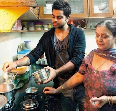 Virat kohli HD wallpapers with mom