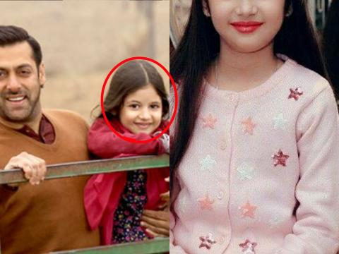 Bajrangi Bhaijaan's Child Actress Grown up Very Beautifully - Unseen Picz