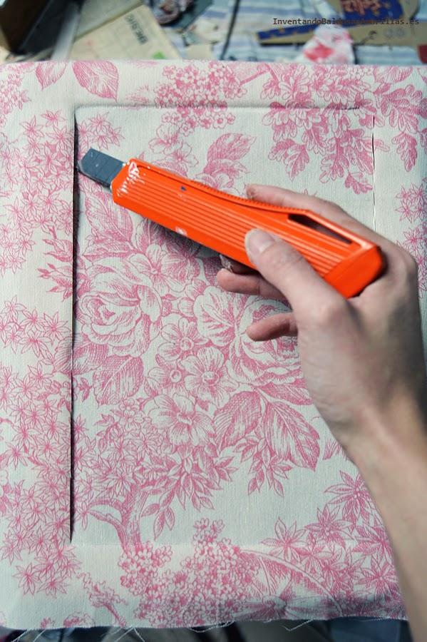 Cómo forrar con tela muebles