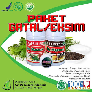 Daftar Isi Produk Herbal De Nature