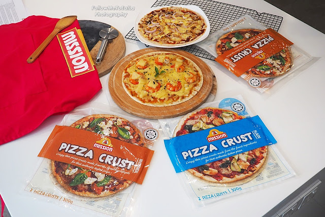 MISSION FOODS Launches new Mission Pizza Crusts In Malaysia