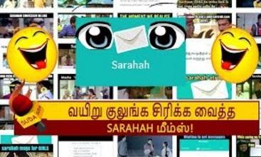 SARAHAH Memes Thokupu