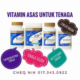 vitamin asas untuk bertenaga