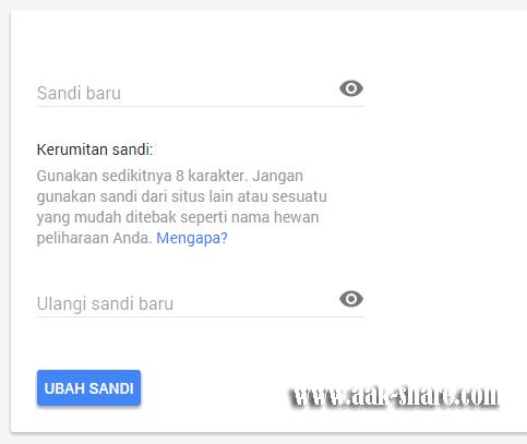 Cara Mengubah Email Gmail