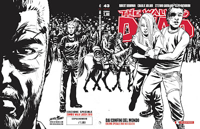 The Walking Dead #43: Dai confini del mondo (variant cover per Lucca)