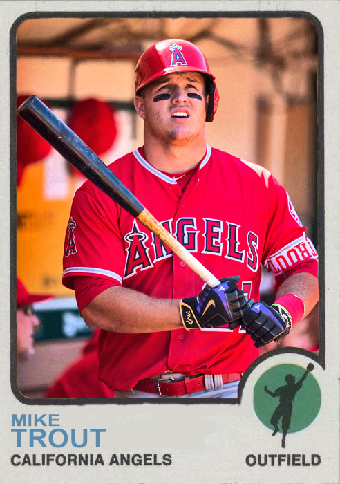 Mint Condition Mike Trout Best Player In Baseball Right Now