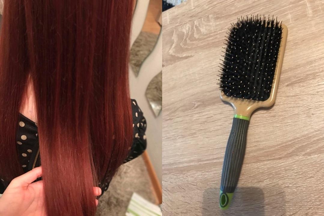 Szczotka do włosów MACADAMIA OIL czyli jak dbam o moje włosy
