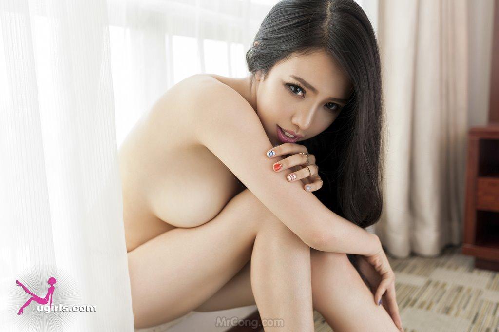 Image MrCong.com-UGIRLS-035-Ni-Xiao-Yao-028 in post Mê mẩn ngắm vòng một nở nang của người đẹp Ni Xiao Yao (妮小妖) trong bộ ảnh UGIRLS 035