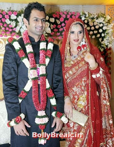 Sania Mirza and Shoaib Malik, Sania Mirza Controversial Past Pics