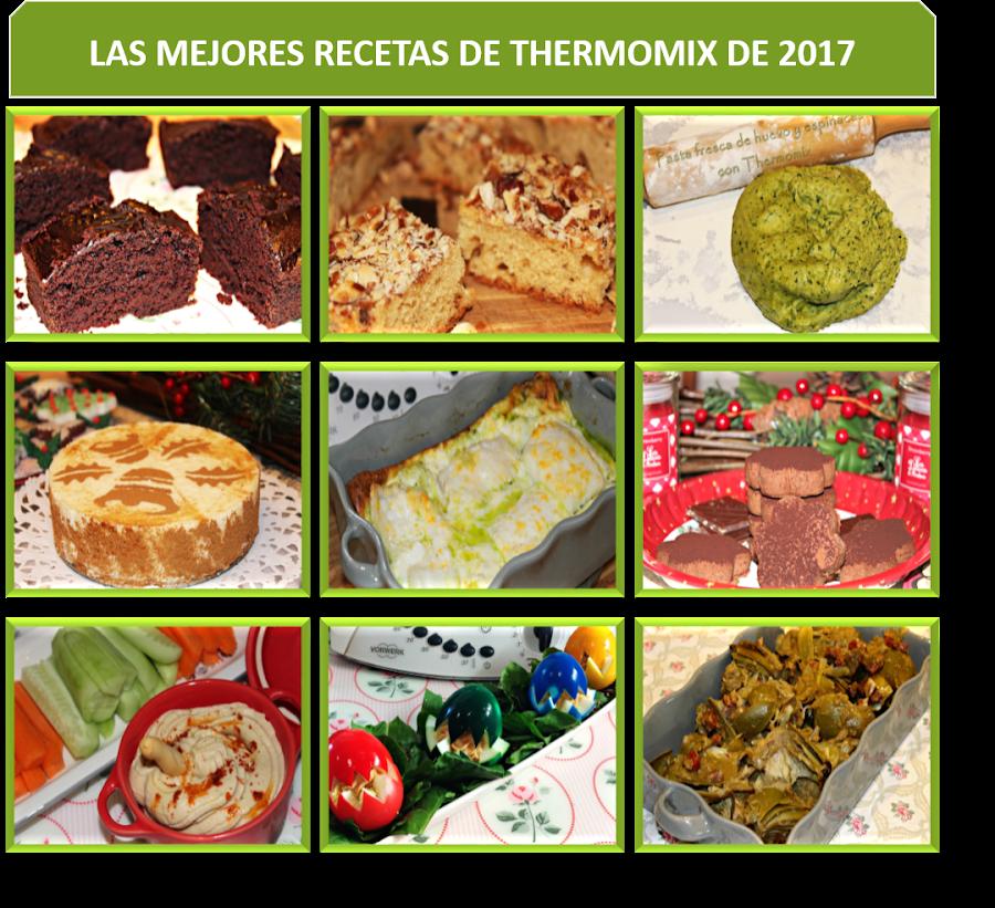 LAS MEJORES RECETAS DE THERMOMIX DEL 2017 {THERMOMIXIL}