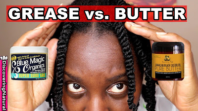 Hair Grease vs Hair Butter | Which Natural Hair Product Should You Use