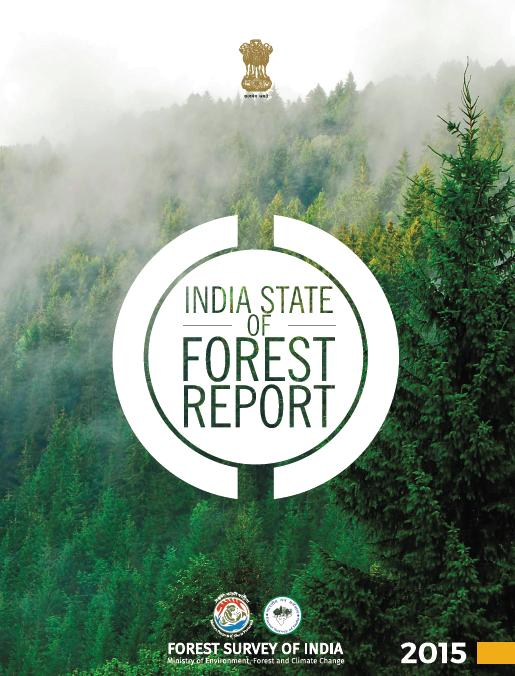 Forest Cover area in India is 24 16% of total geographical