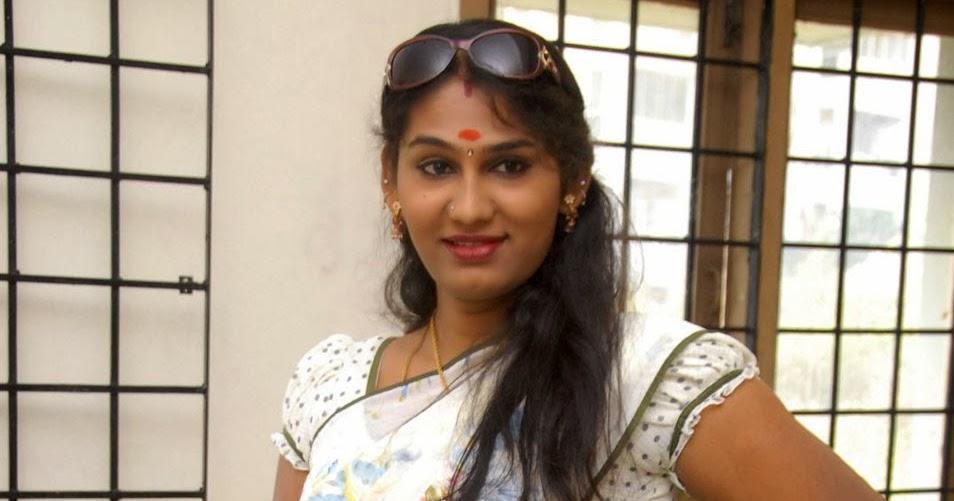 Actress Shyamala Devi In White Saree Latest Photos Picture