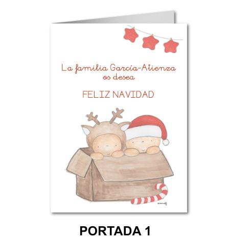 TARJETAS NAVIDAD PERSONALIZADAS , felicitaciones de navidad personalizadas,