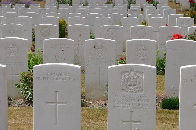 Ypres cimetière anglais