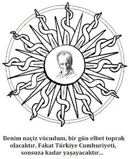 Cumhuriyet Bayrami Boyama Resimli Guzel Sozler