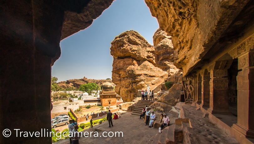 Vellamma temple in Badami is another place to visit in this area.    After exploring Badami, I am most impressed by Cave Temples.