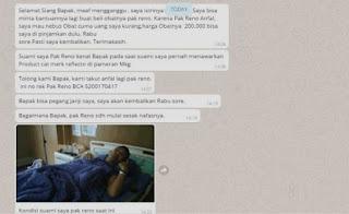 modus baru penipuan di whatsapp wa nomor meminjam uang meminta pura-pura 2