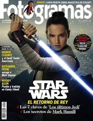 Revista Fotogramas España Diciembre 2017