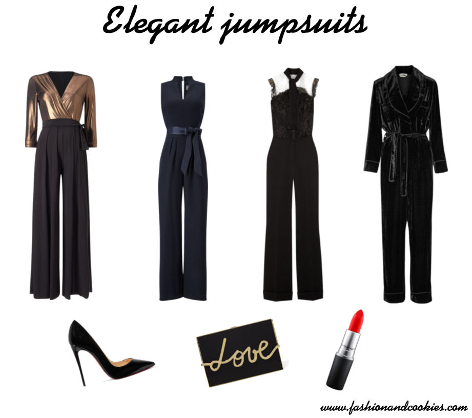How to wear an elegant jumpsuit on Fashion and Cookies fashion blog, fashion blogger style