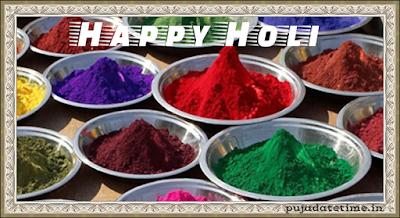2018 Holi Festival date, Rangwali i, Dhulandi, Dolyatra,