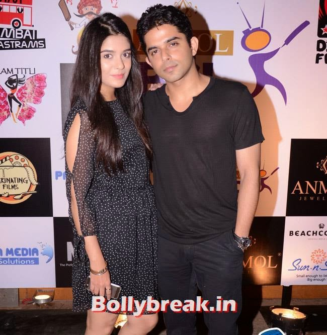 Pooja Gor and Raj Singh Aroraa, Box Cricket League Success Party - Tv Babes as Guests