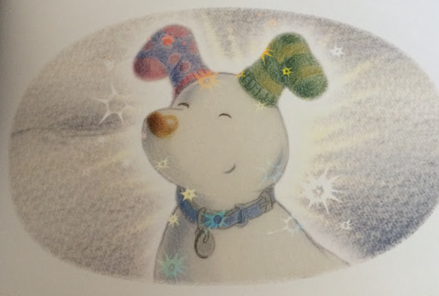 personalised snowman and snowdog book