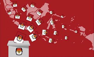 Memberikan Suara dalam Pemilu Demokrasi