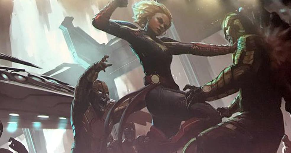 Captain Marvel To Play A BIg Part In Avengers 4.