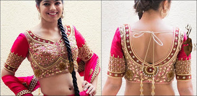 stylish-blouse-back-neck-designs-for-sarees-catalogue-6