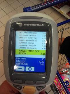 Shopping Lebih Mudah dengan MYDIN Self Scan