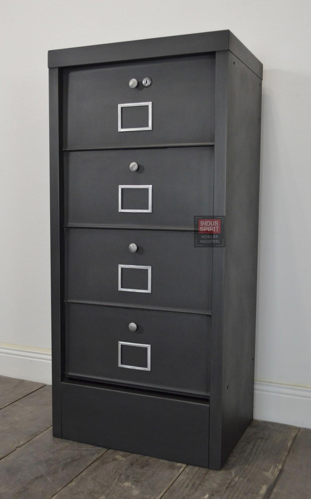 meuble industriel d coration industrielle meuble de. Black Bedroom Furniture Sets. Home Design Ideas